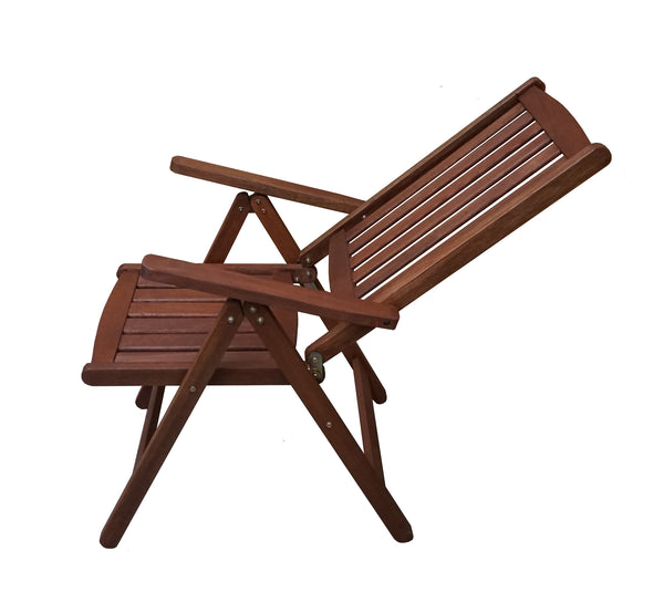 Multi Position Folding Armchair