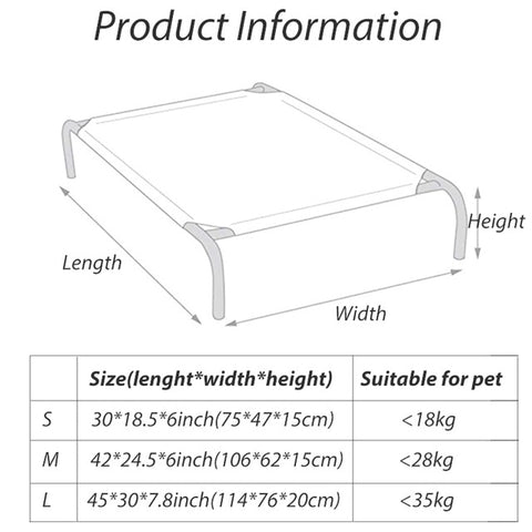 Breathable Dog Bed Pad