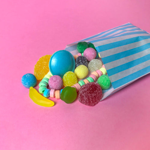 Pick & Mix Style Sweets with No Gluten Containing Ingredients - Paper Bag