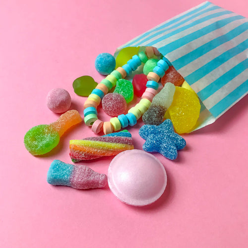 Pick & Mix Style Sweets in Paper Bag