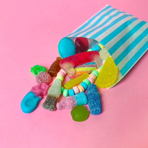 Palm Oil Free Pick & Mix Style Sweets in Paper Bag