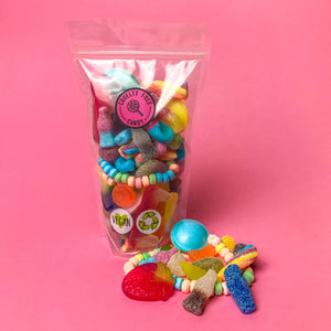 Palm Oil Free Pick & Mix Style Sweets in Recyclable Pouch