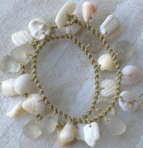 Double Wrap Moku Bracelet MADE TO ORDER (Beachy White)