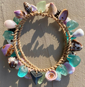 Double Wrap Moku Bracelet MADE TO ORDER (Shark Tooth)