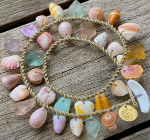 Double Wrap Moku Bracelet MADE TO ORDER (Ultra Rare Pastel Sea Glass)