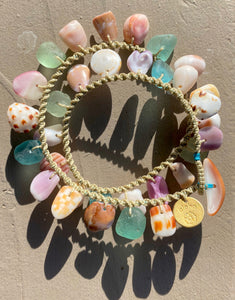 Double Wrap Moku Bracelet MADE TO ORDER (Pastels & Patterns)