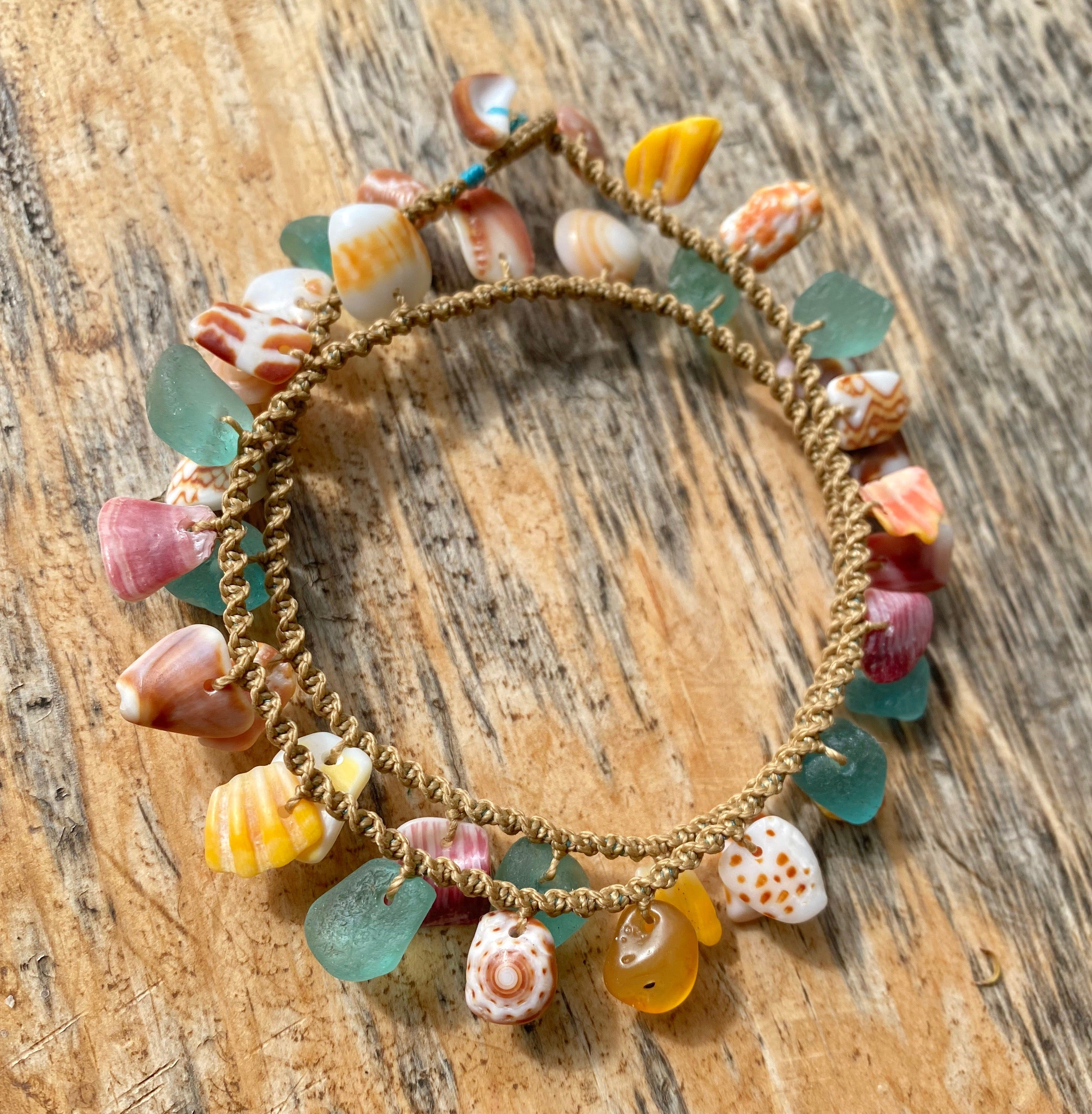 Double Wrap Moku Bracelet MADE TO ORDER (Sunny Skies)