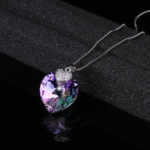 Load image into Gallery viewer, Swarovski Heart Necklace