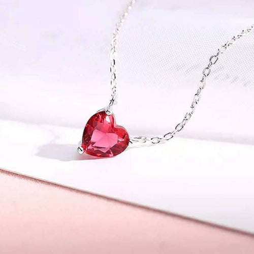 I  ❤️ YOU Heart Necklace 925 Sterling Silver