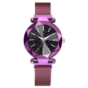 Luxury Starry Sky Watch with Magnetic Band
