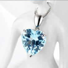 Load image into Gallery viewer, Heart of the Sea Necklace 925 Sterling Silver
