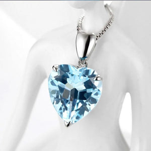 Heart of the Sea Necklace 925 Sterling Silver