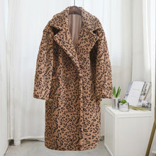 Load image into Gallery viewer, Oversized Faux Fur Teddy Coat