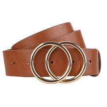 Load image into Gallery viewer, Trendy Gold Buckle Belt