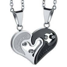 Load image into Gallery viewer, Couples - I Love You Necklace