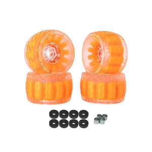 CLOUDWHEEL Discovery 120mm/105mm Urban All Terrain Off Road Electric Skateboard Wheels For Boosted Boards Wheel Pulley Kit