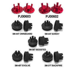 Wheel Pulley Kits For CLOUDWHEEL Discovery Version