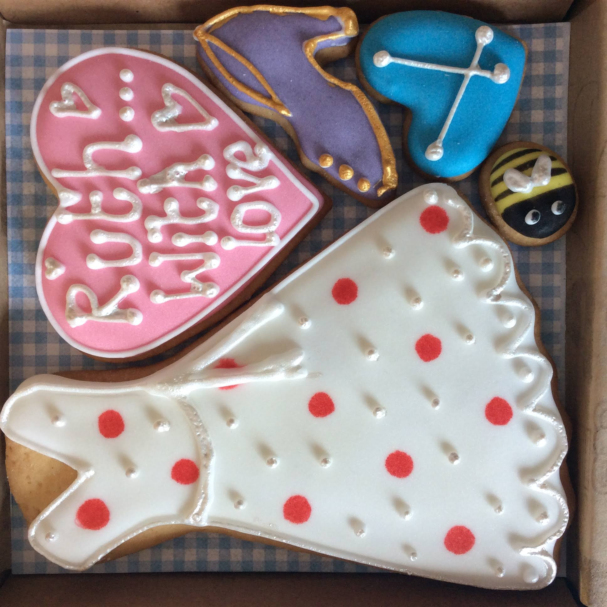Little Box of Joy - Bespoke Cookie Box - Your choice