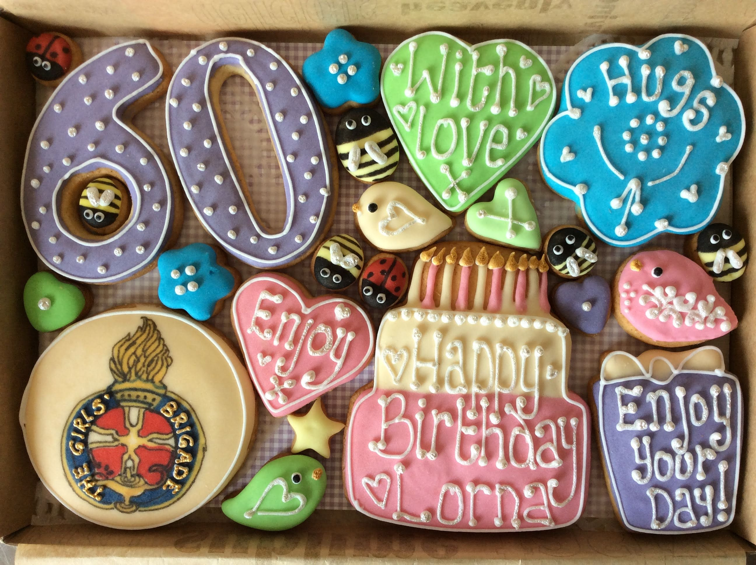 Bespoke Cookie Box - A Story in a Box (Medium)