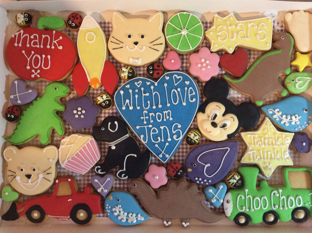 Bespoke Cookie Box - A Story in a Box (Large)