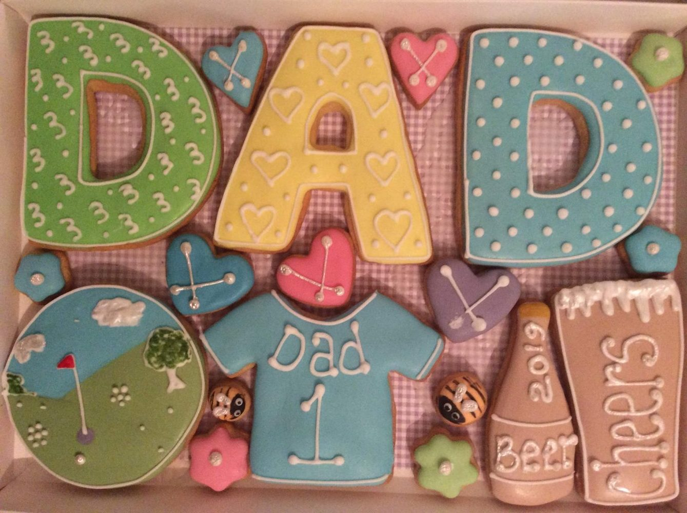 Dad Cookie Box (Large)