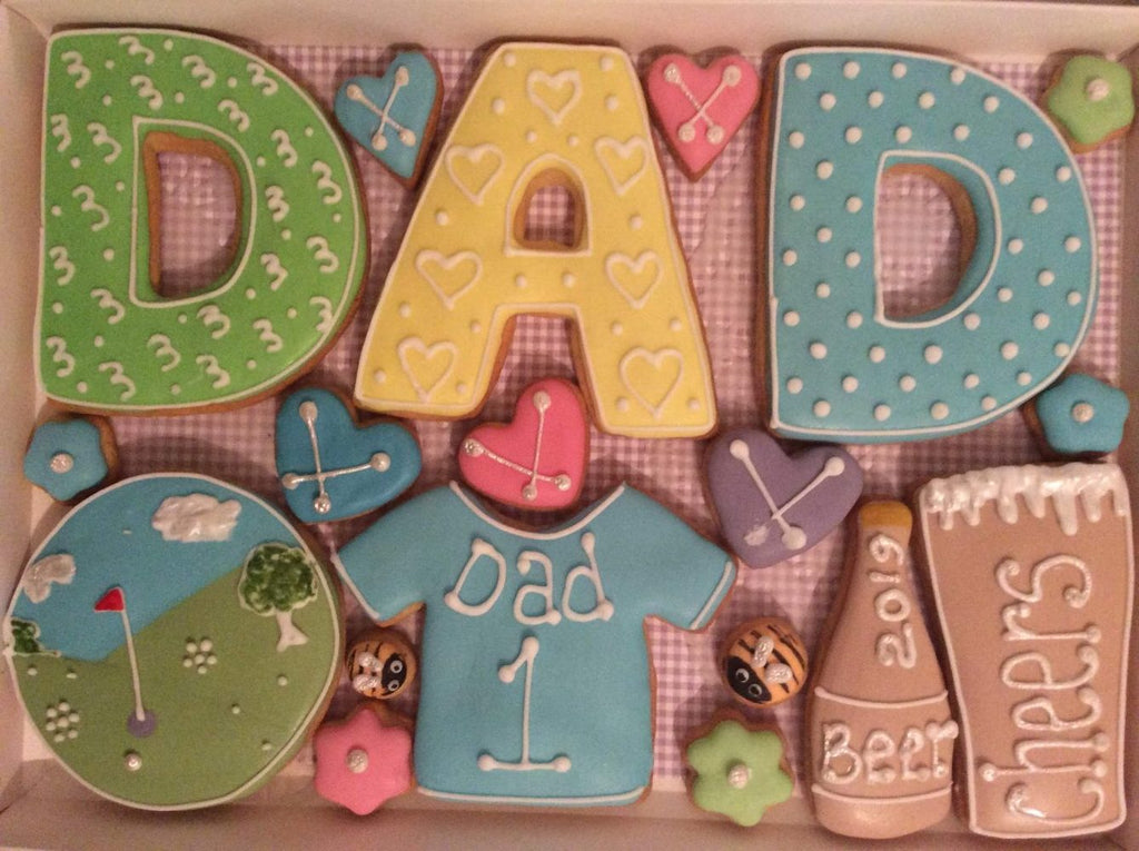 Dad Cookie Box - Medium
