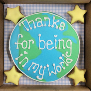 World Thank You Cookie Box