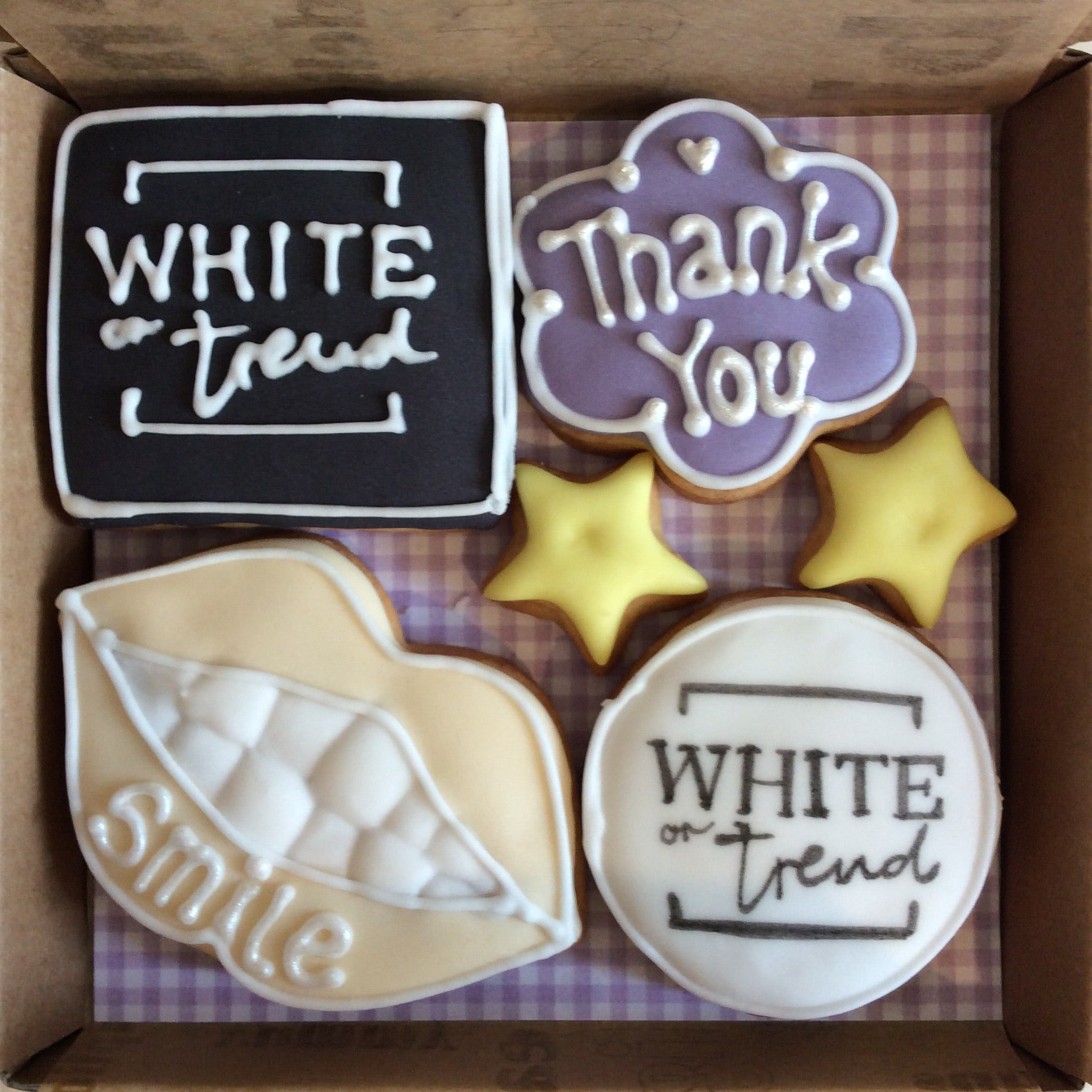 Welcome on board - Bespoke Corporate Cookie Box