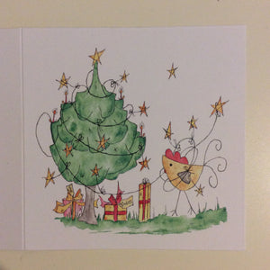 Happy Christmas Greetings Card
