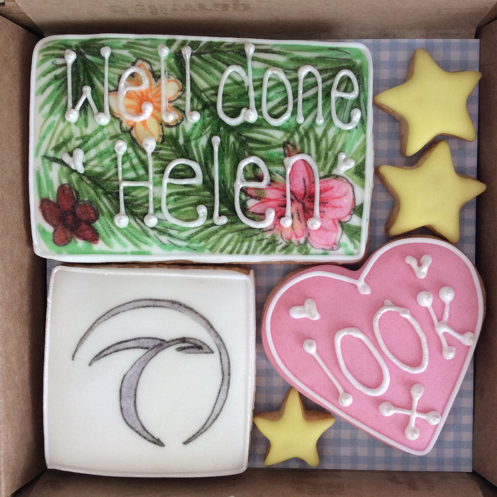 Tropic Well Done - Bespoke Corporate Cookie Box