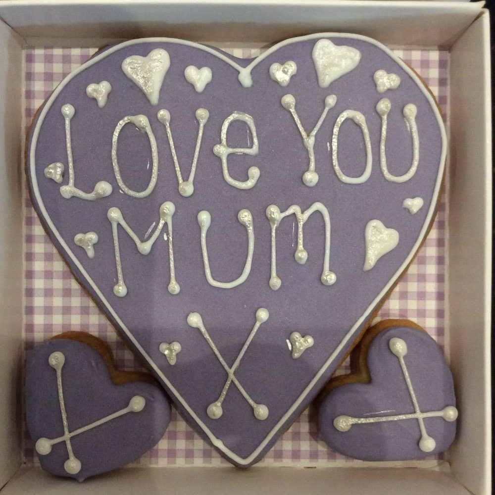 Love You Mum Loveheart - Little Box of Joy