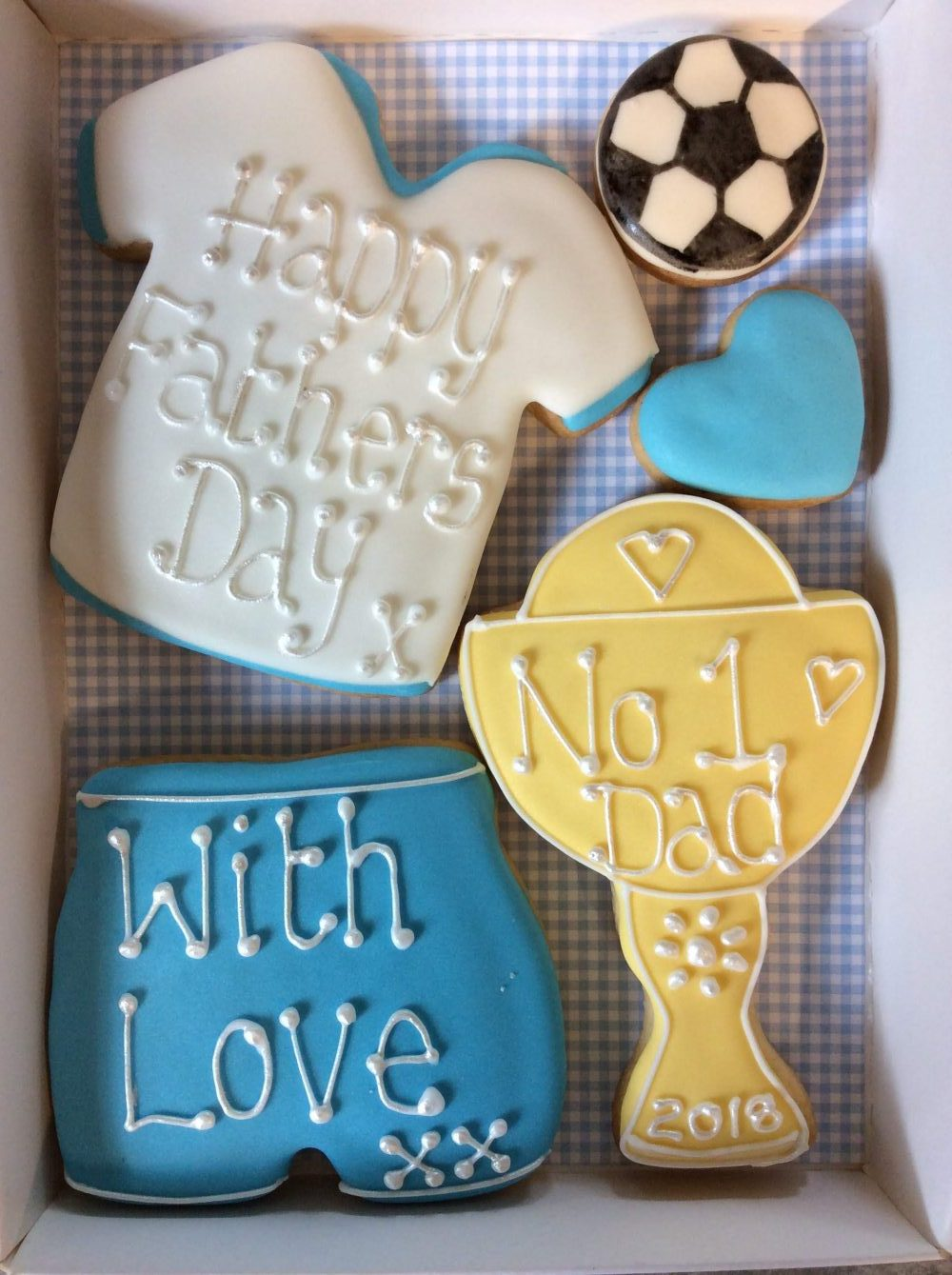 Small Fathers Day Cookie Box
