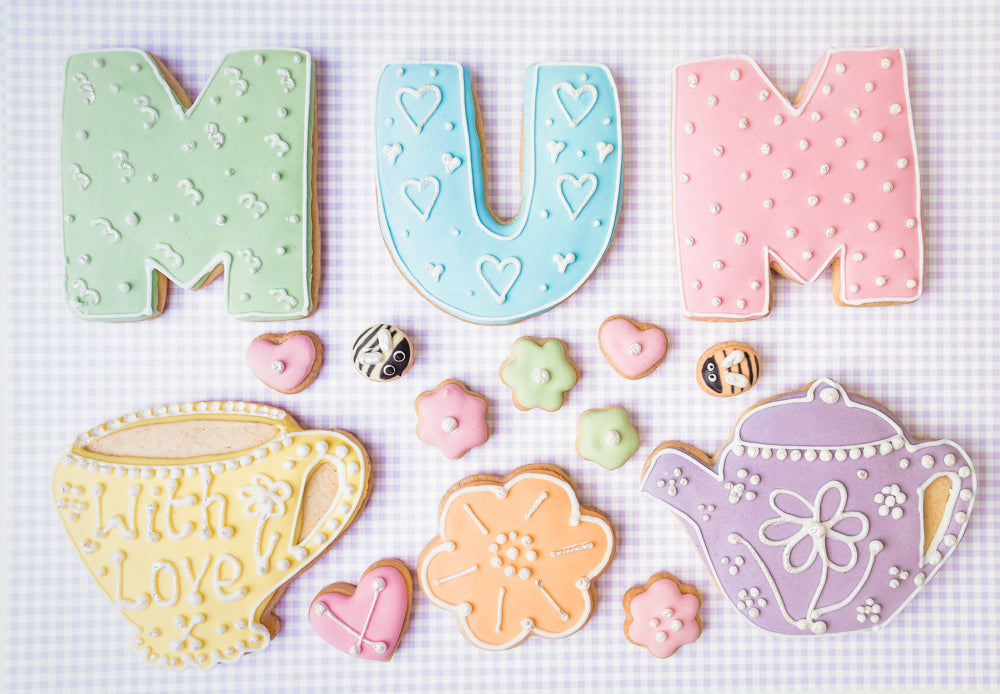 Mum -Tea themed Cookie Box (Large)