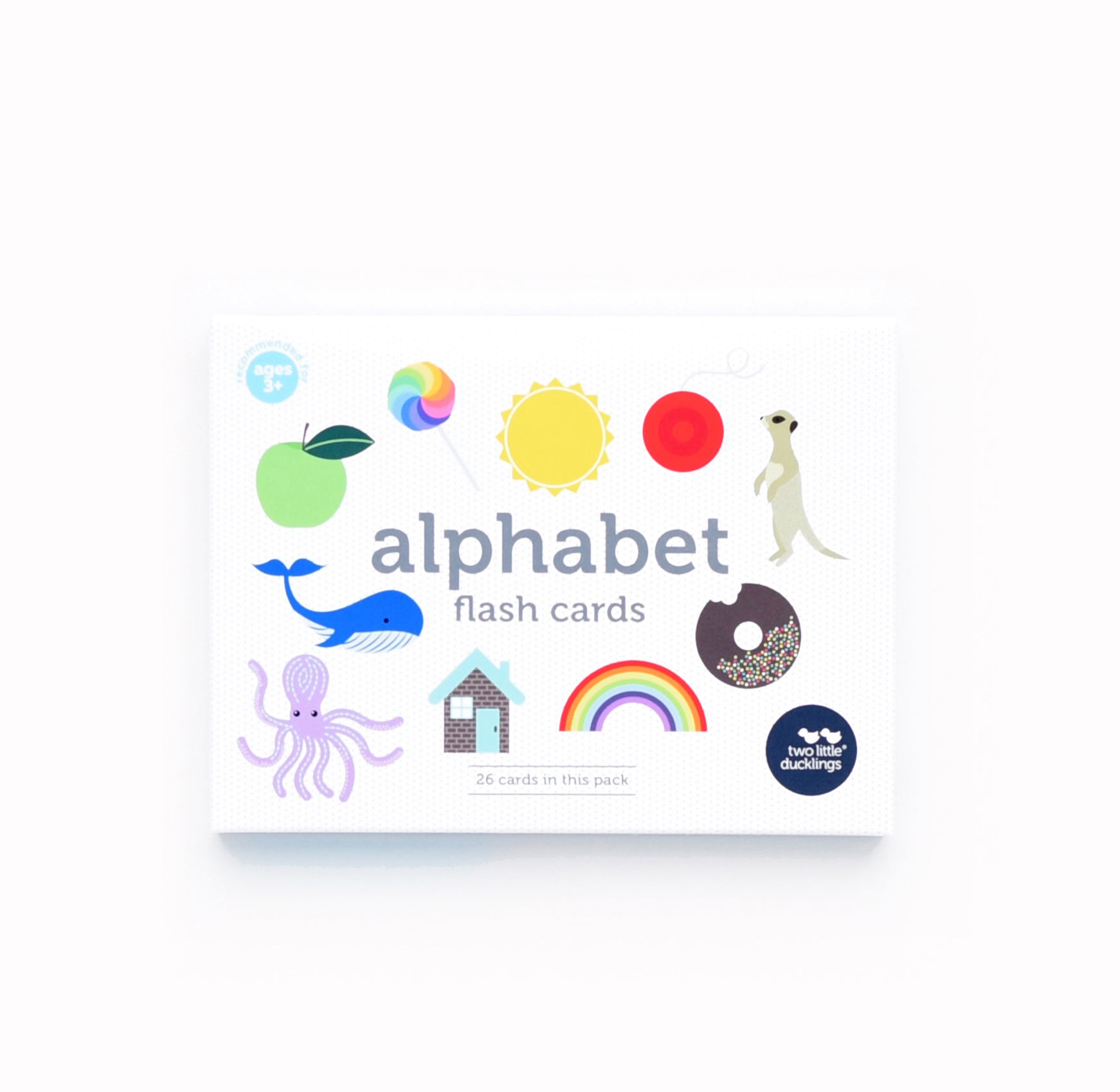 Alphabet Flashcards. These simple uppercase alphabet cards with large, clear letters are great for alphabet activities and songs!