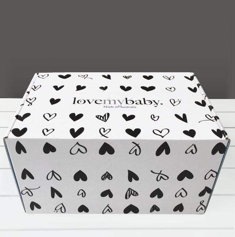 Whale Print Winter Gift Box
