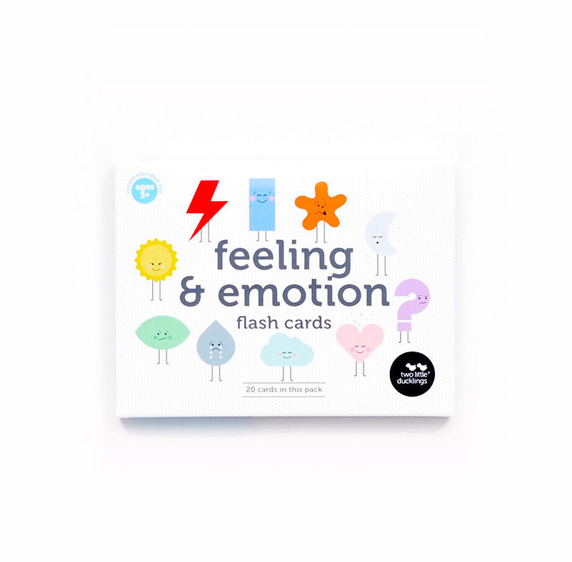Feeling and Emotions Flash Cards