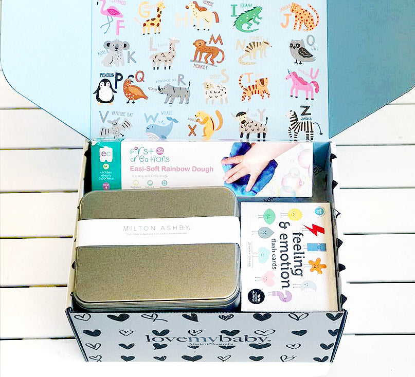 1-2 year old Subscription Box - Deluxe