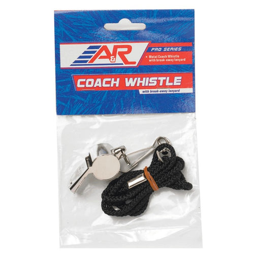 Coach Whistle with Lanyard