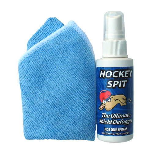 A&R Hockey Spit Visor Anti-Fog + Microfiber Cloth