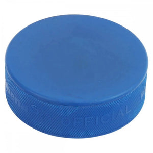 Mite Blue Ice Hockey Puck