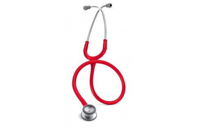 "28"" Length Red Littmann Classic II Pediatric Stethoscope"