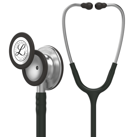 "Image of 27"" Length Black Littmann Classic III Monitoring Stethoscope"