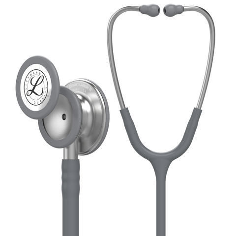 "Image of 27"" Length Gray Littmann Classic III Monitoring Stethoscope"