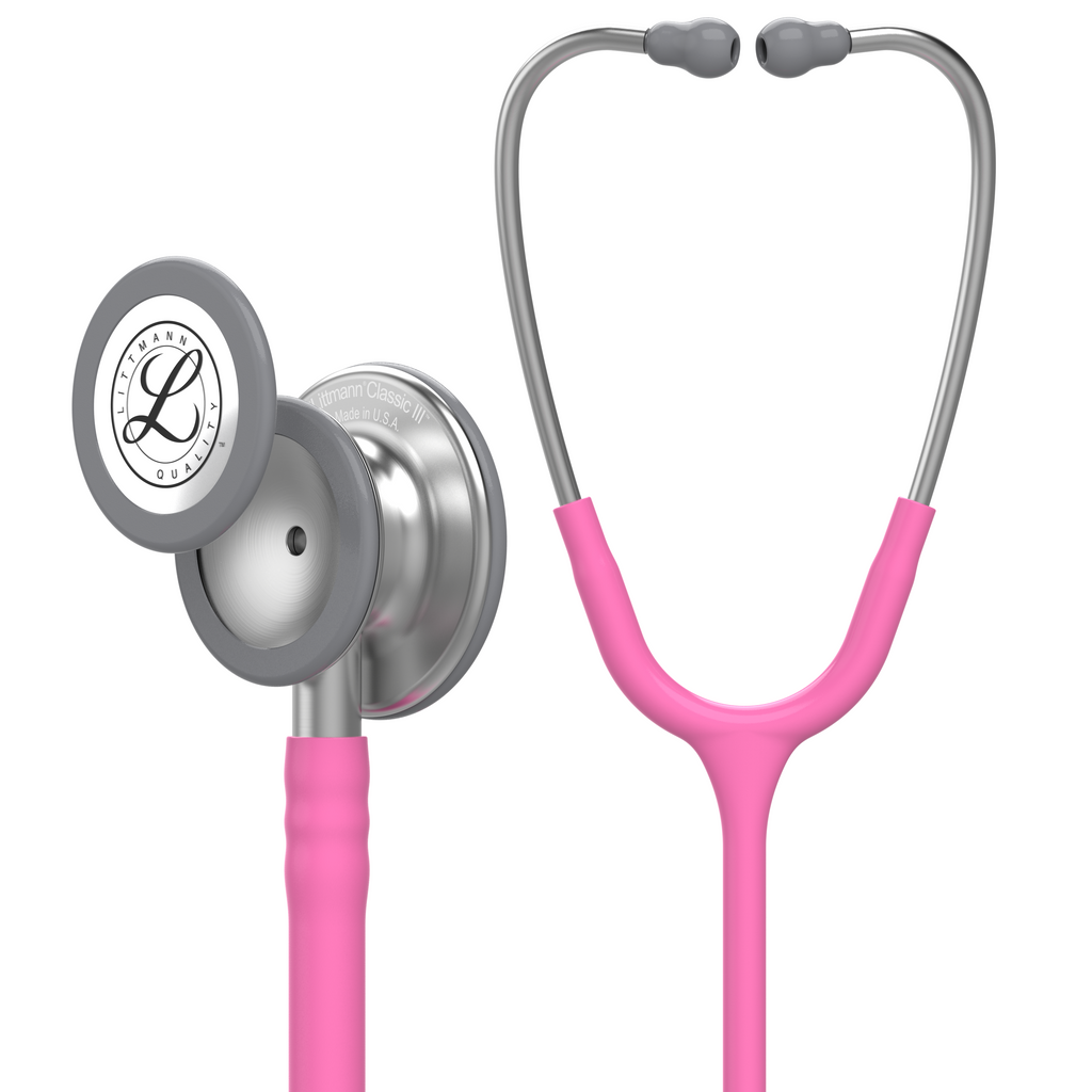 "27"" Length Breast Cancer Awareness Special Edition Littmann Classic III Monitoring Stethoscope"