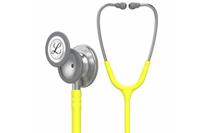 "27"" Length Lemon-Lime Littmann Classic III Monitoring Stethoscope"