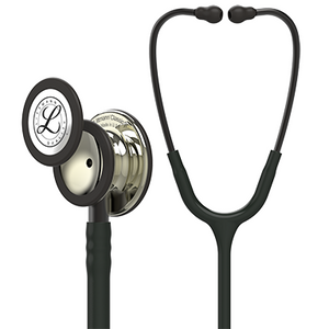 "27"" Length Black & Champagne Finish Littmann Classic III Monitoring Stethoscope"