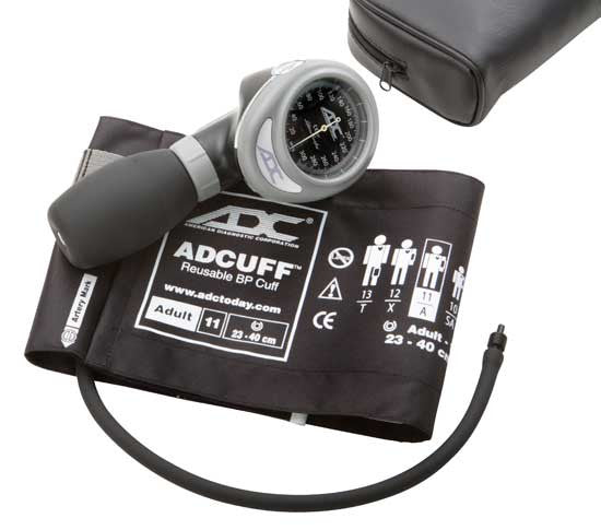 ADC palm style aneroid sphygmomanometer