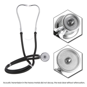 Medical Estetoscopio Stethoscope Dual Headed Double Tube Professional Multifunctional Stethoscope Portable Home Use Health Care
