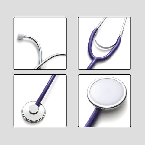 Image of Portable Doctor Stethoscope Medical Cardiology Stethoscope Professional Medical Equipments Medical Devices Student Vet Nurse
