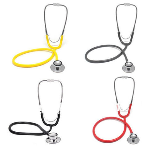 Image of Professional Stethoscope Aid Single Headed Stethoscope Portable Medical  For Doctor Auscultation Device Equipment Tool DC88